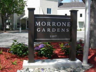 Morrone Gardens Sign